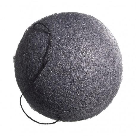 Éponge Konjac Visage noire peaux mixtes