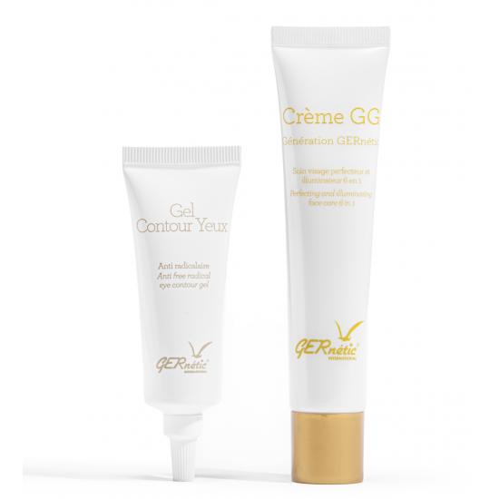 Gernetic promo gel contour yeux et crème GG
