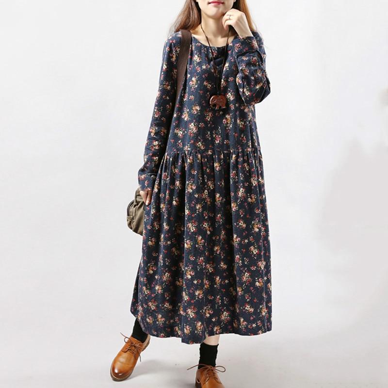 Robe Fleurie Longue D Hiver Robes Fleuries Robes Longues Fleuries Flower Corner