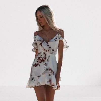 Mini robe fleurie légère