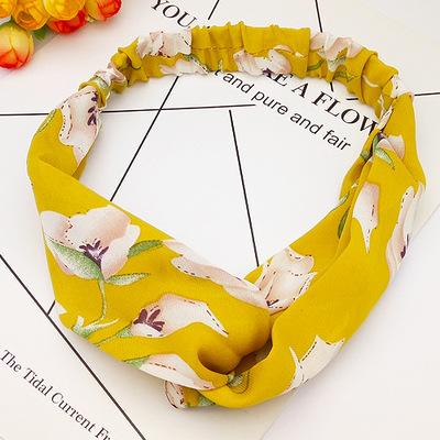 bandeau-a-fleurs-jaune