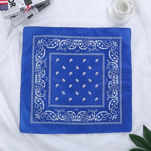 Bandana fleuri bleu