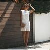 Dentelle-robe-blanche-femmes-l-gantes-robes-de-soir-e-sans-manches-pansement-volants-Floral-Vintage