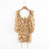 Robe-d-t-2019-Boho-robe-imprim-e-florale-femmes-sexy-lacets-bow-robe-jaune-femme