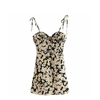 t-femmes-robe-l-gant-Vintage-Kawaii-jaune-Floral-Cami-Boho-d-contract-paule-d