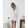 Nouvelles-filles-blanc-t-boh-me-Mini-robe-femmes-mode-printemps-solide-blanc-Mini-dentelle-v