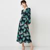 Aachoae-femmes-col-en-V-Sexy-fendu-l-gant-robe-2020-Vintage-imprim-fleuri-Boho-longue