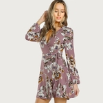 Robe-Fleurie-Mode