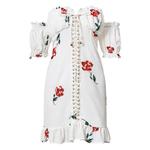 robe-courte-imprimé-fleuri