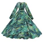 robe-longue-verte
