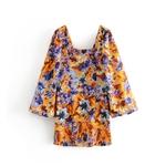 l-gant-Chic-Floral-imprim-l-che-manches-robe-Za-2019-Vintage-l-gant-femmes