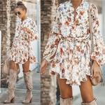 robe-courte-fleurie-blanche