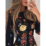 robe-fleurie-moulante