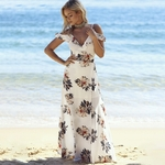 robe-imprimé-fleuri-longue