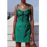 robe-femme-courte-verte