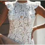 robe-fleurie-dentelle