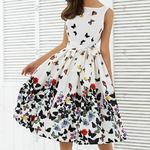 robe-a-fleurs-pas-cher