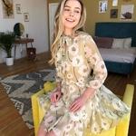 robe-fleurie-jaune