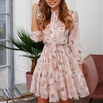 robe-fleurie-rose