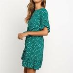 robe-fleurie-verte