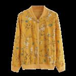 Veste-fleurie-jaune
