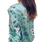 veste-fleurie-verte
