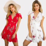 robe-fleurie-courte-été