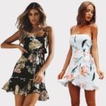 robe-fleurie-courte-sexy