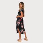 robe-fleurie-noire