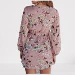 robe-imprimé-fleuri-rose