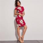 robe-moulante-rouge