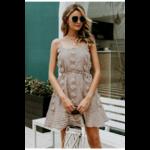 robe-fleurie-kaki-brodée