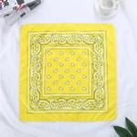 bandana-fleuri-jaune