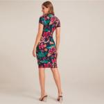 robe-midi-fleurie-sexy