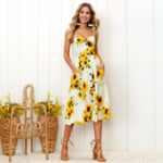 robe-fleurie-midi-femme