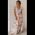 robe-a-fleurs-rose-longue