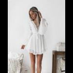 robe-fleurie-blanche-dentelle-femme