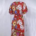 Boho-fleur-imprimer-robe-d-t-volants-col-en-V-ceintures-plage-longues-dames-robes-coton
