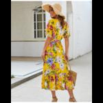 robe-midi-fleurie-jaune