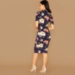 robe-midi-fleurie-moulante