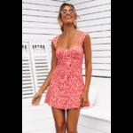 robe-courte-fleurie-femme