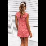 robe-courte-fleurie