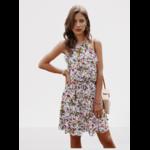 robe-a-fleurs-courte-blanche