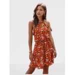 robe-a-fleurs-rouge-femme
