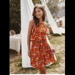 robe-a-fleur-rouge