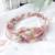 bandeau-a-fleurs-rose