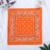 bandana-fleuri-orange