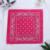 bandana-fleuri-rose-foncé
