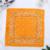 bandana-fleuri-orange-clair