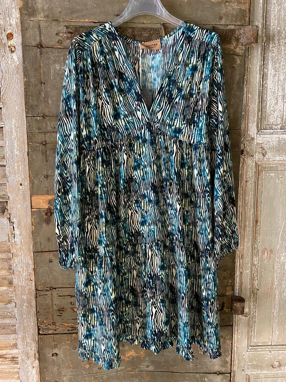 Robe ALI turquoise